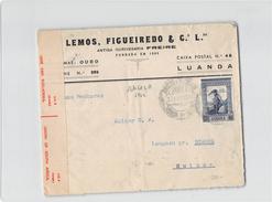 2372 01 ANGOLA LUANDA LEMOS TO BIENNE - CENSOR - Angola