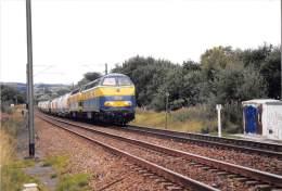SNCB-NMBS - Bovigny - Locomotive Diesel - Type 5519 - Trains