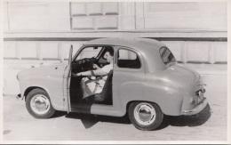 Orig.Foto ALTES AUTO Um 1950, Fotoformat Ca.13,5 X 8,5 Cm - Automobile