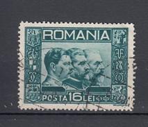 Rumänien 16 L. 3 Könige 1931 - Gestempelt - Gebraucht