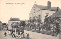 BOESSES - Mairie Et Ecoles - France