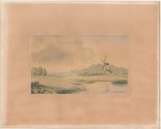 Original Vintage Print By Artist F A Betteridge - Decretos & Leyes