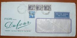 Cover - Letter - Sobre De Italia - 6. 1946-.. Repubblica