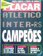 PLACAR GUIDE COPA UNIÃO (BRÉSIL) 1987 - Books, Magazines, Comics