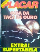 PLACAR GUIDE TAÇA DE OURO (BRÉSIL) 1983 - Books, Magazines, Comics