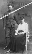 1916 - 1919 / CARTE PHOTO / 4e RMZ ( TUNIS / BIZERTE ) / CROIX DE GUERRE AVEC PALME / 4e RÉGIMENT DE MARCHE DE ZOUAVES - War, Military