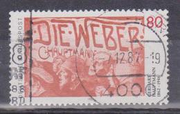 1987 Germania - 125° Ann. Della Nascita Di Gerhert Haumptmann