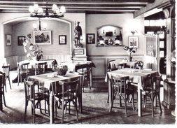 "Hotel Restaurant  Muller - Un Coin Du Restaurant Avec ""le Dernier Veilleur De Nuit D'Alsace"" - Turckheim"