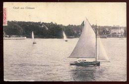 1096 - GERMANY Gruenau 1912 Berlin. Gruss Aus Yachting - Germania