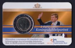"""2014 OLANDA """"DOPPIO RITRATTO"""" 2 EURO COMMEMORATIVO FDC (COINCARD) - Paesi Bassi"""