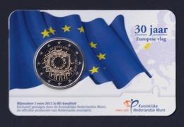 """2015 OLANDA """"EMISSIONE COMUNE"""" 2 EURO COMMEMORATIVO FDC (COINCARD) - Paesi Bassi"""