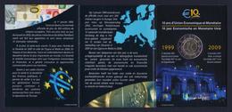 """2009 BELGIO """"EMISSIONE COMUNE"""" 2 EURO COMMEMORATIVO FDC (FOLDER) - Belgio"""