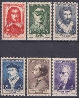 France 1956 Yvert#1066-1071 Mint Never Hinged (sans Charnieres) - France