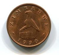 1990 Zimbabwe 1 Cent Coin - Zimbabwe
