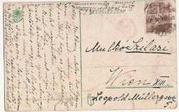 Italy &  Fiume Riva Szapda, Viena (1818) - Marcophilie