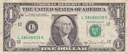 Etats-Unis D´Amérique - Billet De 1 Dollar - George Washington - San Francisco L - 1981 A - Federal Reserve Notes (1928-...)