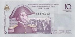 Haïti - Billet De 10 Gourdes - S. Belair - 2012 - Neuf - Haïti
