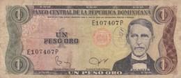 République Dominicaine - Billet De 1 Peso - Duarte - Non Daté - P117 - Dominicaine