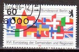 Berlin 1986 Mi. 758 Europatag Gestempelt (8260)