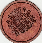 Timbre Monnaie 15 Centimos - 2 Scans - Notgeld - Espagne