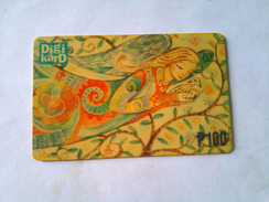 Philippines Phonecard Digikard 100 Pesos  Angel