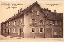 WOLFISHEIM-RESTAURANT AU LION ROUGE - Autres Communes