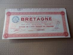 Ateliers Et Chantiers De BRETAGNE (nantes) - Azioni & Titoli