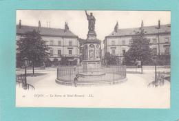 Old Postcard Of La Statue De Saint-Beernard,Dijon, Burgundy-Franche-Comte, France,Y20. - Franche-Comté