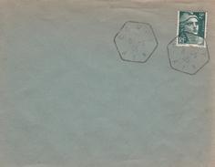 Coupy Ain - Hexagonal Sur Gandon - 08 Mai 1945 = Armistice !!! - Marcophilie (Lettres)
