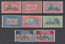 INDOCHINE  1927  YVERT N° 139/146 * MH    Réf  5941 C - Indocina (1889-1945)