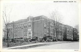 Pays Div-ref H915-etats Unis D Amerique -usa - Salem High School , Salem Ill- Carte Bon Etat  - - Etats-Unis