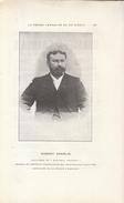 1901 - Portrait De Jean Oscar LABOURASSE Dit Robert Charlie (Vouthon 1849 - Paris 1911) - Journaliste - FRANCO DE PORT - Vieux Papiers