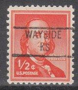 USA Precancel Vorausentwertung Preos Locals Kansas, Wayside 841
