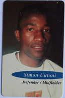 Namibia Phonecard N$10 Simon Uutoni - Namibia