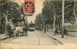 13 - 190517 - PLAN DE CUQUES - L'arrivée Du Tramway - Hippomobile La Bourdannière La Fève Bar Terminus Tram 806 - France