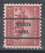 USA Precancel Vorausentwertung Preos Bureau Kansas, Wichita 1032-71