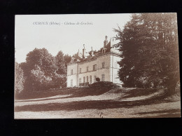 CPA D69 Ouroux Chateau De Grosbois - Andere Gemeenten