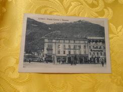 Como - PiazzaCavour E Brunate (216) - Italia