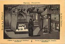 Pays Div-ref H827- Palestine - Eglise De La Nativité A Bethlehem  - Carte Bon Etat -