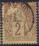 YT47 Alphee Dubois 2c - Reunion St Denis - Alphée Dubois