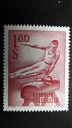 Österreich 1121 **/mnh, Turnen Am Seitpferd - 1945-.... 2nd Republic