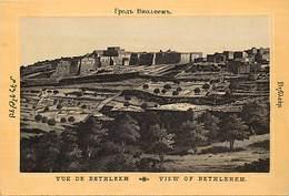 Pays Div-ref H824- Palestine - Vue De Bethleem   - Carte Bon Etat -