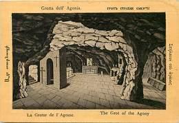Pays Div-ref H821- Palestine - La Grotte De L Agoine -agony - Agonia   - Carte Bon Etat -