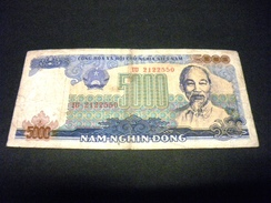 VIETNAM 5000 Dong 1987 , Pick N° 104 , VIET NAM - Viêt-Nam