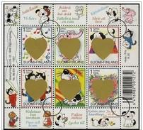 Finlandia/Finlande/Finland: Specimen, Foglietto, Block, Bloc, San Valentino, Valentine's Day, Saint Valentin - Feste