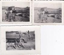 Mini Photo--MILITARIA--militaires Avec Leur Camion---voir 2 Scans - Photography