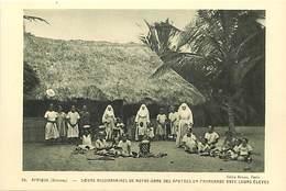 Pays Div-ref H799- Dahomey - Soeurs Missionnaires De Nd Des Apotres En Promenade Avec Leurs Eleves  - Carte Bon Etat  - - Dahomey