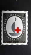 Österreich 1135 **/mnh, 100 Jahre Internationales Rotes Kreuz - 1945-.... 2nd Republic