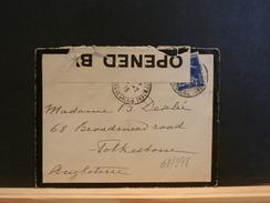 68/998  LETTRE 1915 POUR ANGLETERRE.+ CENSURE - Briefe U. Dokumente
