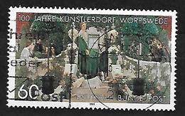 BRD 1989  Mi 1430  100 Jahre Künstlerdorf Worpswede